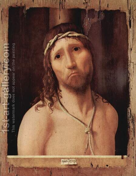 Ecce Homo 3 by Antonello da Messina Messina - Reproduction Oil Painting