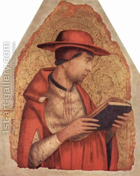 St. Jerome by Antonello da Messina Messina - Reproduction Oil Painting