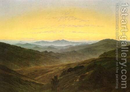Landscape by Caspar David Friedrich - Reproduction Oil Painting