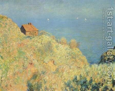 La maison du Pecheur, Varengeville, 1882 by Claude Oscar Monet - Reproduction Oil Painting