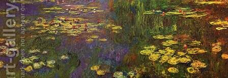 Nympheas (Water Lilies) by Claude Oscar Monet - Reproduction Oil Painting