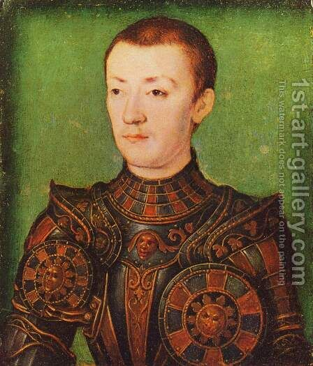 Francois, Dauphin de France by Corneille De Lyon - Reproduction Oil Painting