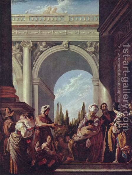 Parable of the prodigal son by Domenico Fetti - Reproduction Oil Painting