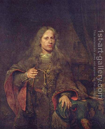 Portrait of Ernst van Beveren by Aert De Gelder - Reproduction Oil Painting