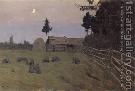 Twilight by Isaak Ilyich Levitan - Reproduction Oil Painting