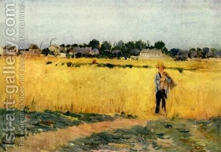 Cornfield by Berthe Morisot - Reproduction Oil Painting
