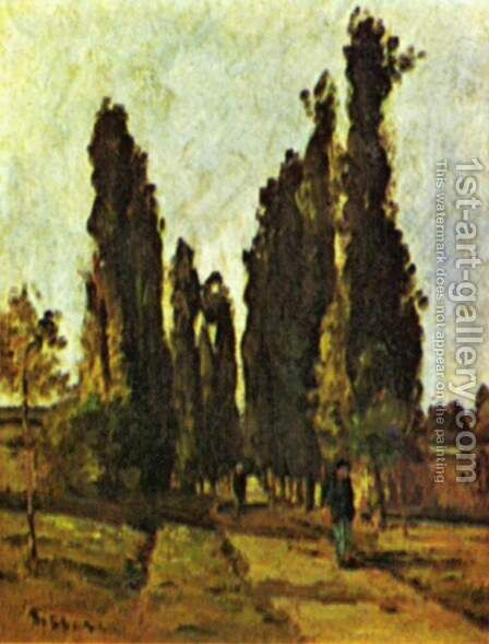 The path by Camille Pissarro - Reproduction Oil Painting