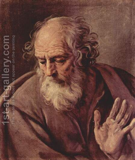 St. John by Guido Reni - Reproduction Oil Painting