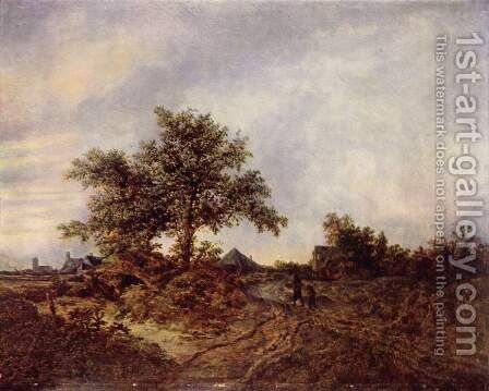 Landscape by Jacob Van Ruisdael - Reproduction Oil Painting