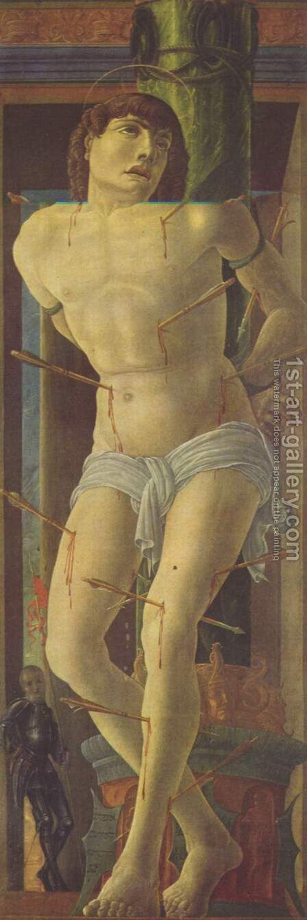 St. Sebastian by Cosme Tura - Reproduction Oil Painting