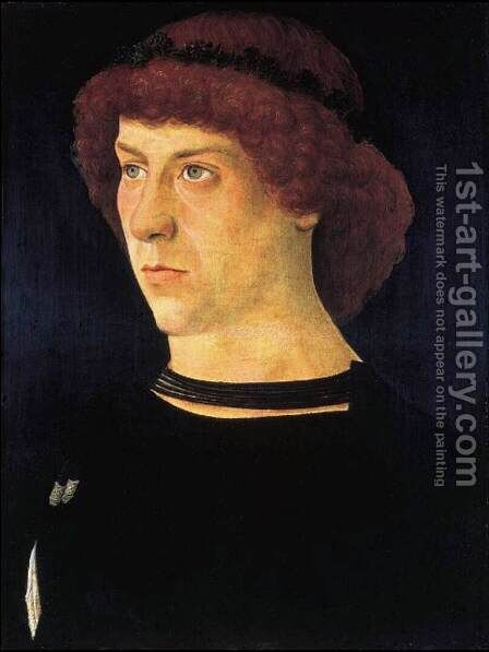 Portrait of Jorg Fugger by Giovanni Bellini - Reproduction Oil Painting