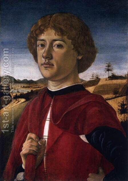 Portrait of a Young Man by Biagio D'Antonio - Reproduction Oil Painting