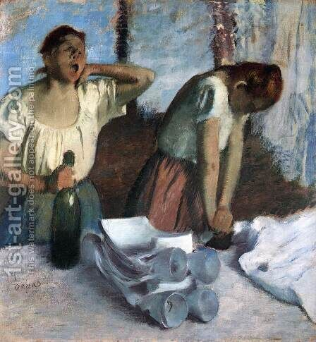 The Ironers by Edgar Degas - Reproduction Oil Painting