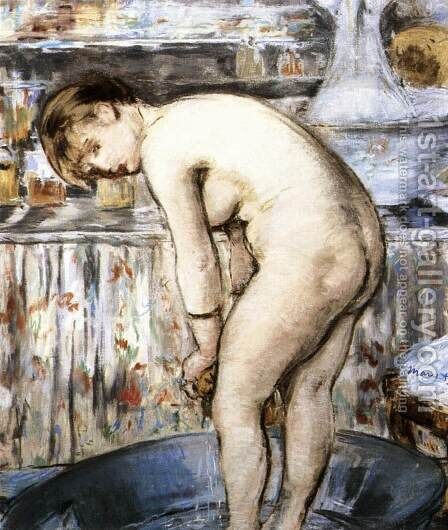 The Bath by Edouard Manet - Reproduction Oil Painting
