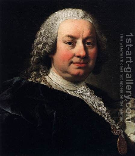 Self-Portrait 2 by Martin II Mytens or Meytens - Reproduction Oil Painting