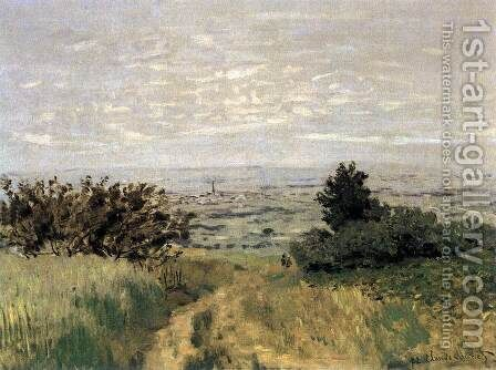 The Plain of Sannois at Argenteuil by Claude Oscar Monet - Reproduction Oil Painting