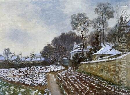 Thaw in Argenteuil by Claude Oscar Monet - Reproduction Oil Painting