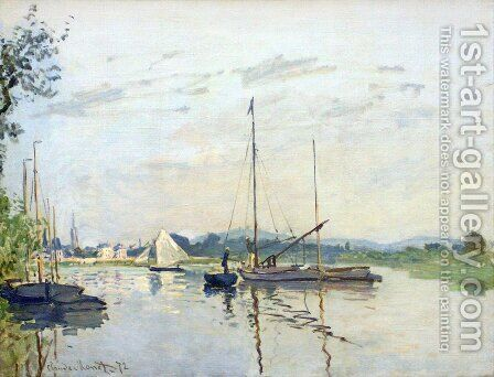 Argenteuil 2 by Claude Oscar Monet - Reproduction Oil Painting