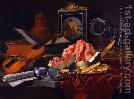 Still-Life 2 by Cristoforo Munari - Reproduction Oil Painting