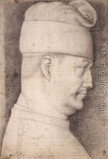 Filippo Maria Visconti by Antonio Pisano (Pisanello) - Reproduction Oil Painting