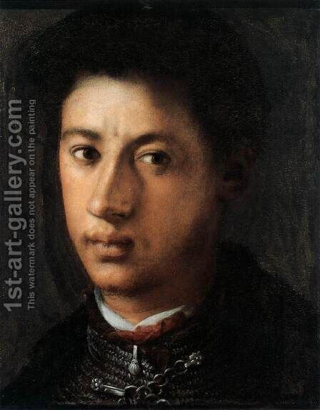 Alessandro de' Medici 2 by (Jacopo Carucci) Pontormo - Reproduction Oil Painting