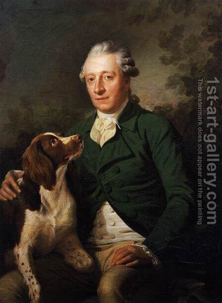 Portrait of Count Anton Lamberg-Sprinzenstein by Martin Ferdinand Quadal - Reproduction Oil Painting