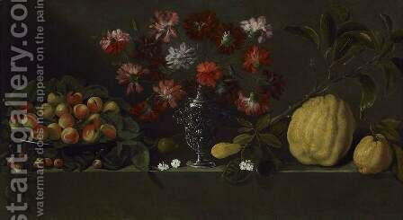 Still-Life by Giovanni Quinsa - Reproduction Oil Painting