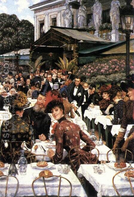 The Painters and their Wives by James Jacques Joseph Tissot - Reproduction Oil Painting