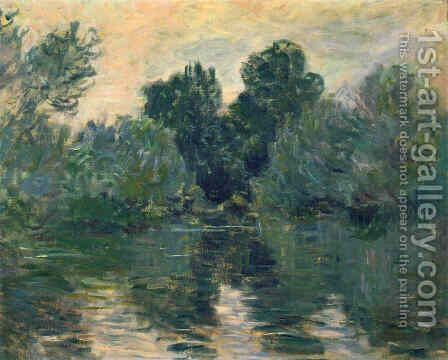 The Arm of the Seine by Claude Oscar Monet - Reproduction Oil Painting
