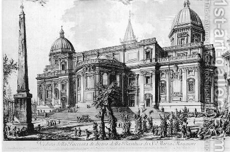 Vedute di Roma 4 by Giovanni Battista Piranesi - Reproduction Oil Painting
