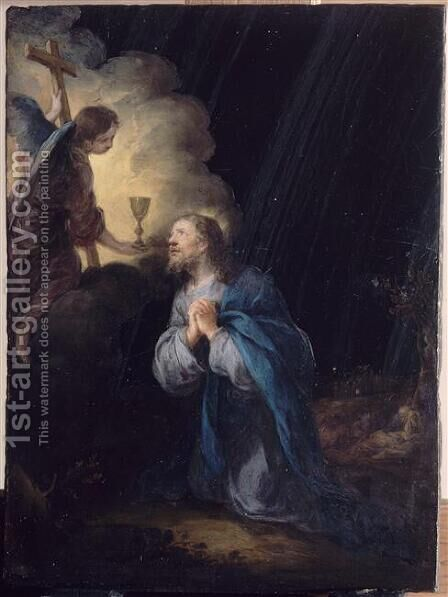 Christ In The Garden Of Olives by Bartolome Esteban Murillo - Reproduction Oil Painting