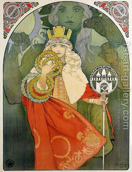 6th Sokol Festival 2 by Alphonse Maria Mucha - Reproduction Oil Painting