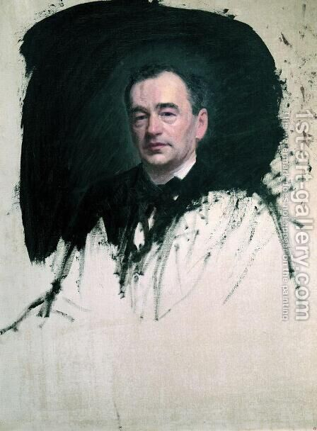 Portrait of Dr. Karl A. Rauhfus by Ivan Nikolaevich Kramskoy - Reproduction Oil Painting