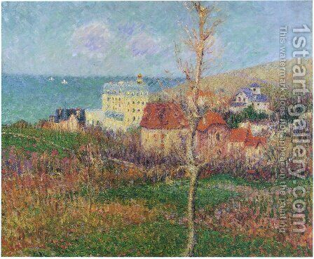 At the Coast of Normandy by Gustave Loiseau - Reproduction Oil Painting