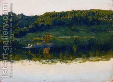 At Volga. by Isaak Ilyich Levitan - Reproduction Oil Painting