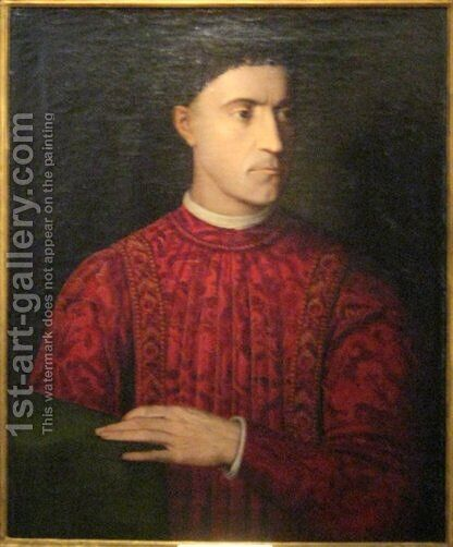 Pietro de' Medici by Agnolo Bronzino - Reproduction Oil Painting