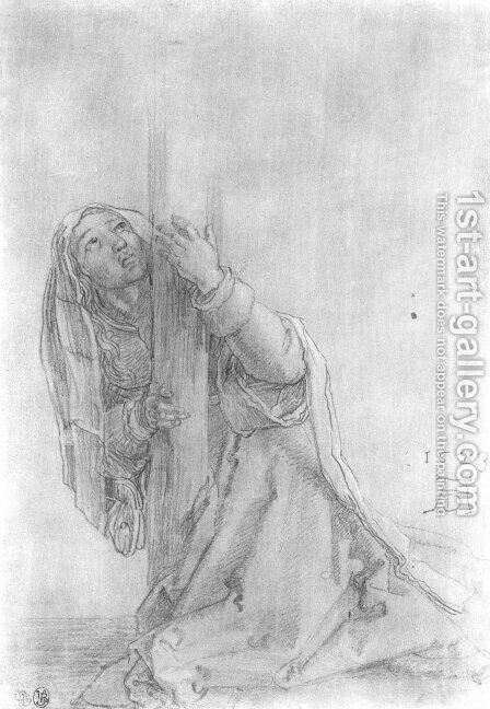 St. Magdalena by Albrecht Durer - Reproduction Oil Painting
