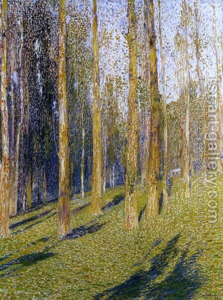 Forest by Henri Martin - Reproduction Oil Painting