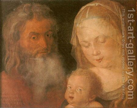 Holy Family 2 by Albrecht Durer - Reproduction Oil Painting