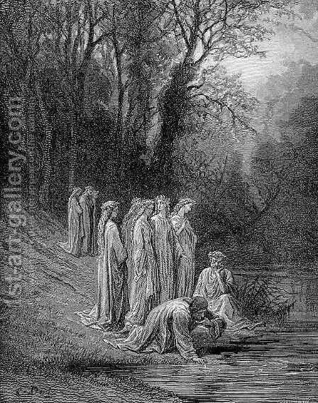 The Eunoe by Gustave Dore - Reproduction Oil Painting