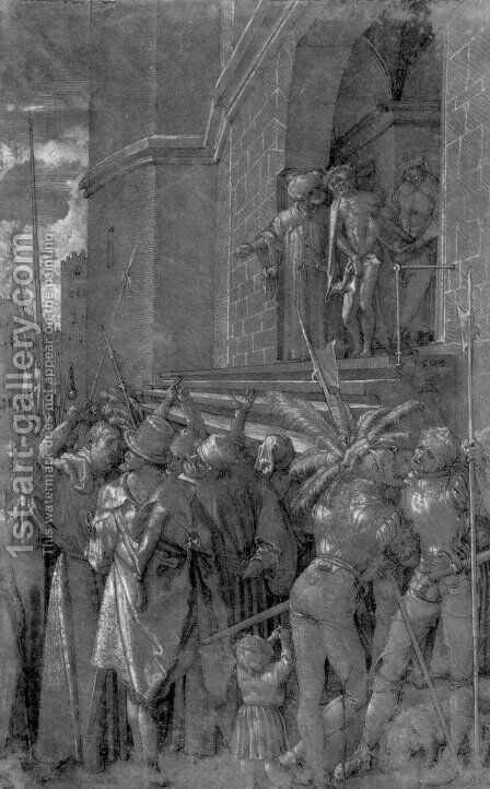 Ecce homo 7 by Albrecht Durer - Reproduction Oil Painting