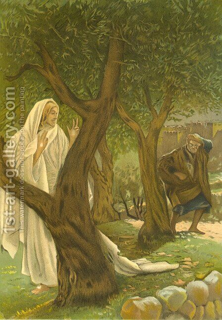 Christ appearing to Saint Peter by James Jacques Joseph Tissot - Reproduction Oil Painting