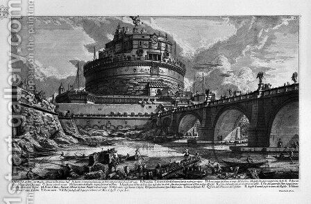 The Roman antiquities, t. 4, Plate III. Table of Contents Volume in this quarter. by Giovanni Battista Piranesi - Reproduction Oil Painting