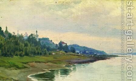 Plyos by Isaak Ilyich Levitan - Reproduction Oil Painting