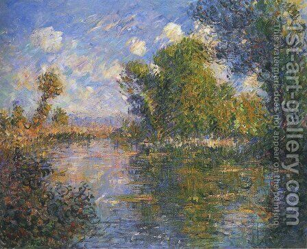 By the Eure River in Autumn by Gustave Loiseau - Reproduction Oil Painting