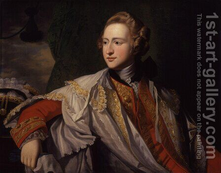 Francis Osborne, 5th Duke of Leeds by Benjamin West - Reproduction Oil Painting