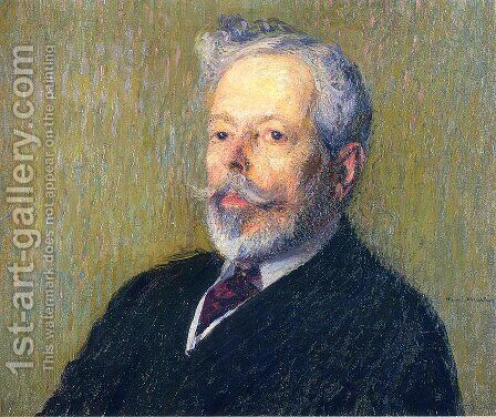 Self Portrait by Henri Martin - Reproduction Oil Painting