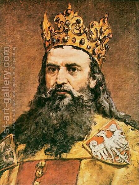 Casimir the Great by Jan Matejko - Reproduction Oil Painting