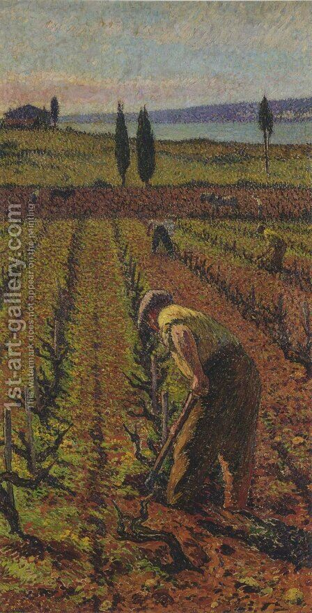 Farmer by Henri Martin - Reproduction Oil Painting