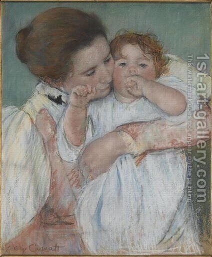 Matertiny by Mary Cassatt - Reproduction Oil Painting